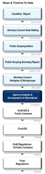 Steps & Timeline to Date