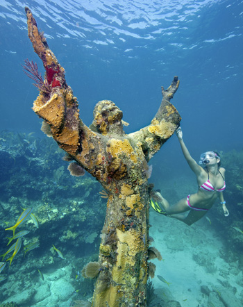 Christ of the Deep. Photo credit: Stephen Frink