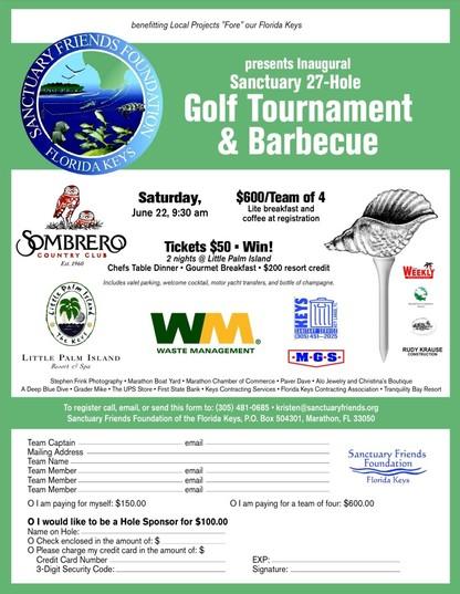 Sanctuary Golf Tournament