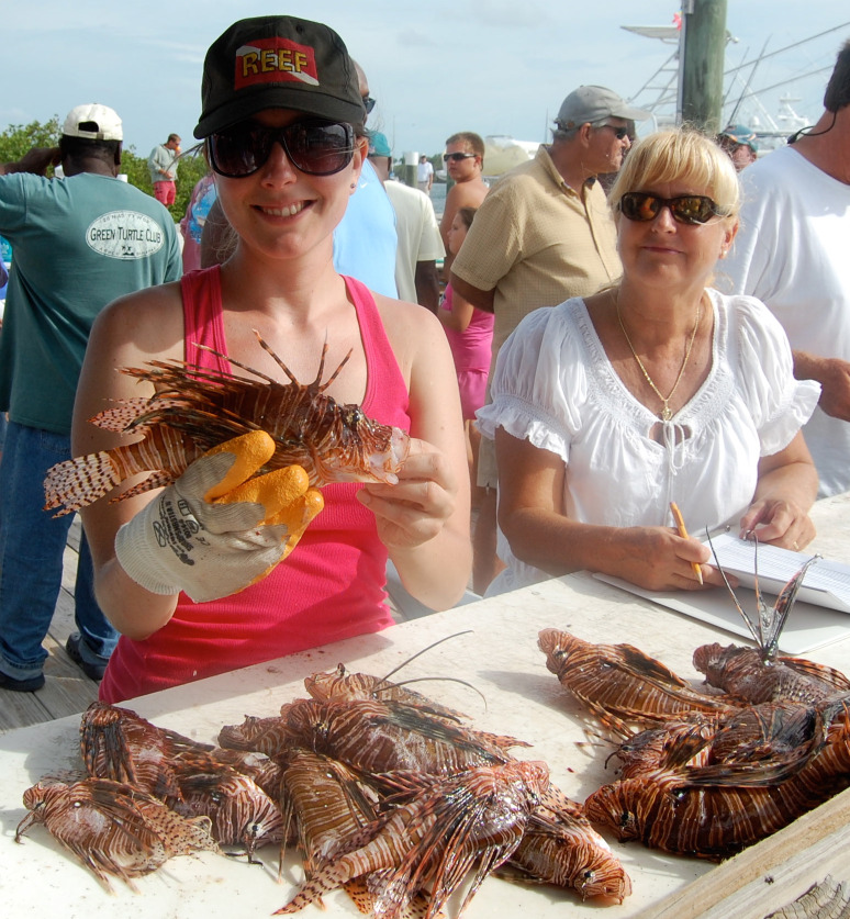 REEF-sponsored Lionfish Derby in the Bahamas