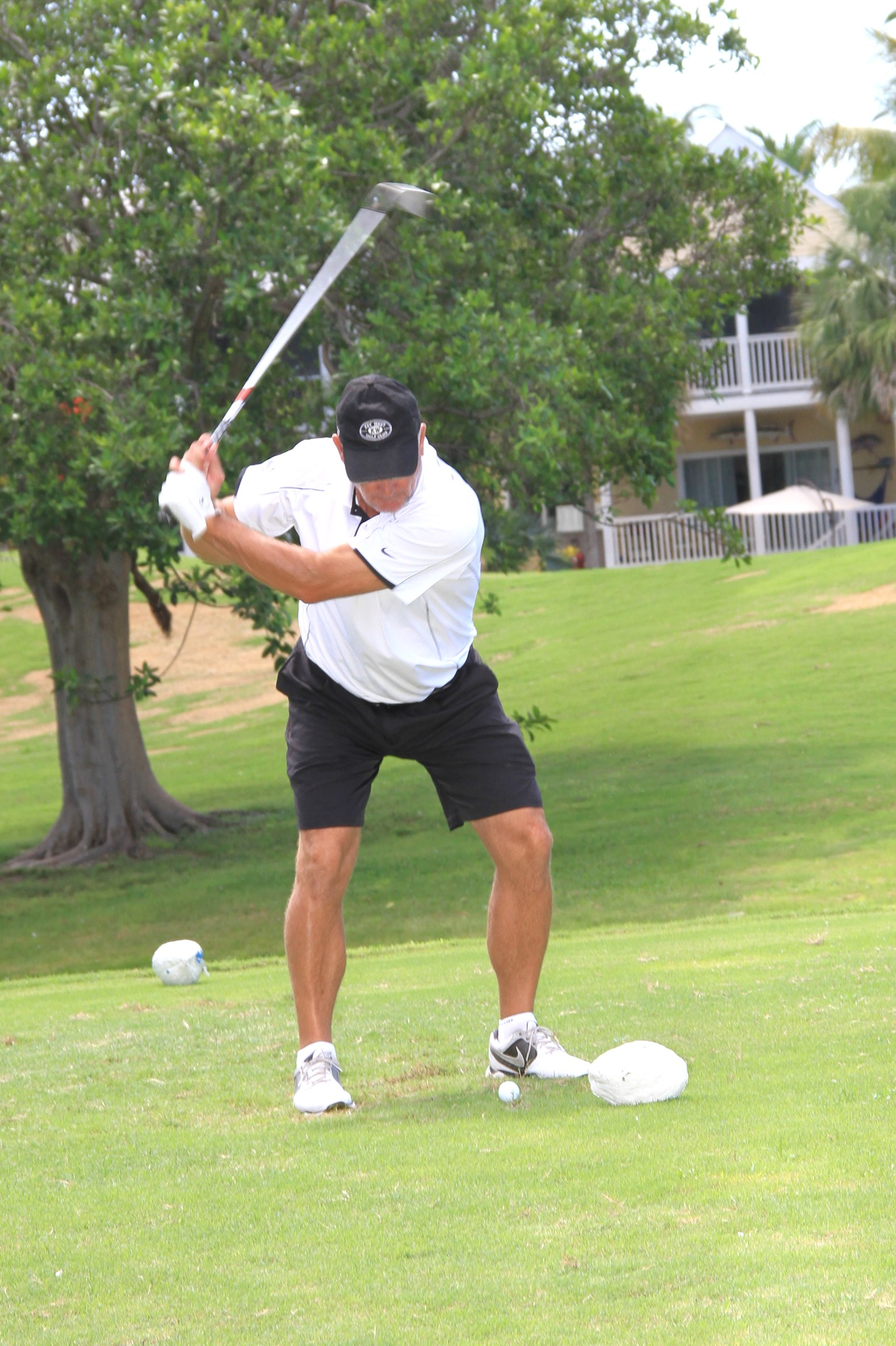 Brian Botsford takes a swing at the 2014 Tournament