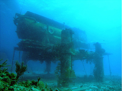 Aquarius Reef Base undersea laboratory