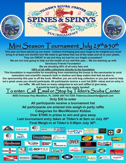 Tilden's Spines & Spinys Tournament
