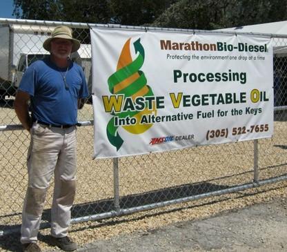Marathon Bio-Diesel Owner Jeff Lillie