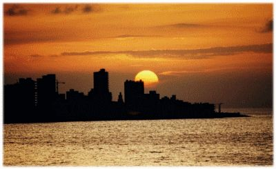 Havana Sunset by Larry Benvenuti