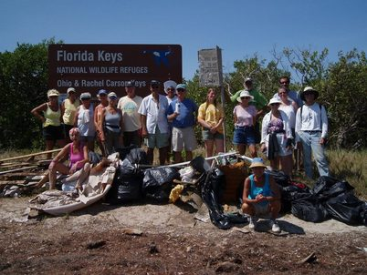 1,238 pounds of marine debris removed from Ohio Key